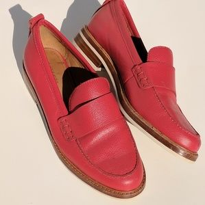 Coach Red Indigo Loafer Soldout!